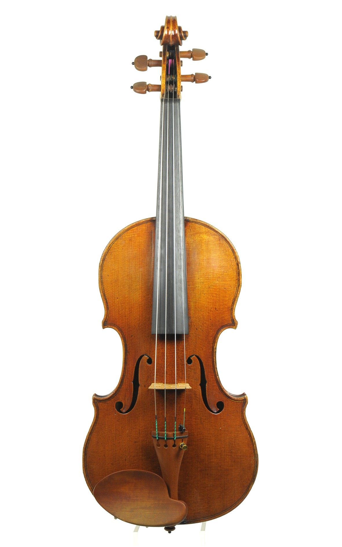 Ernst Heinrich Roth, 1924 master violin, Amati model - top