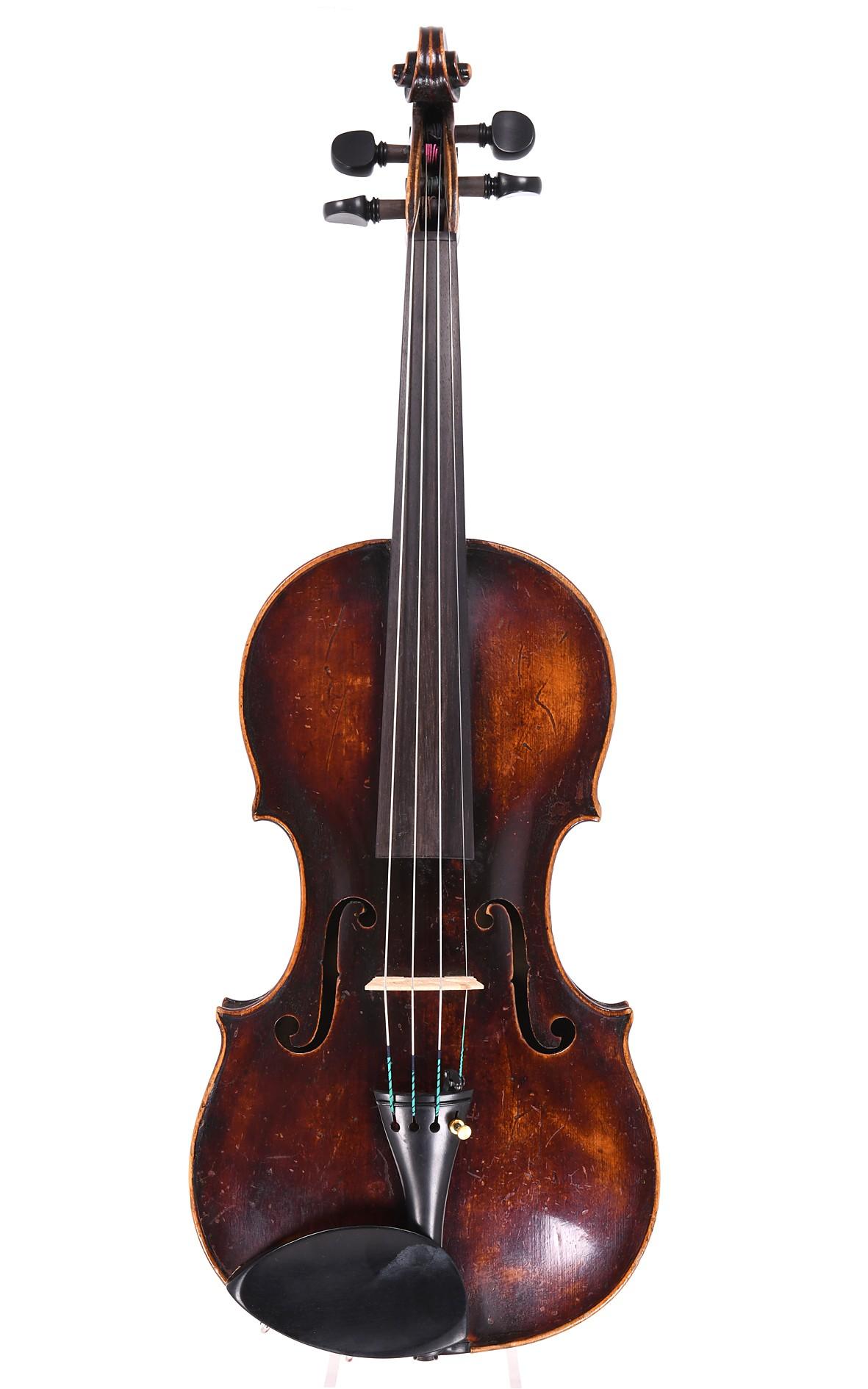 Fine Mittenwald violin by Peter Hornsteiner, circa 1790