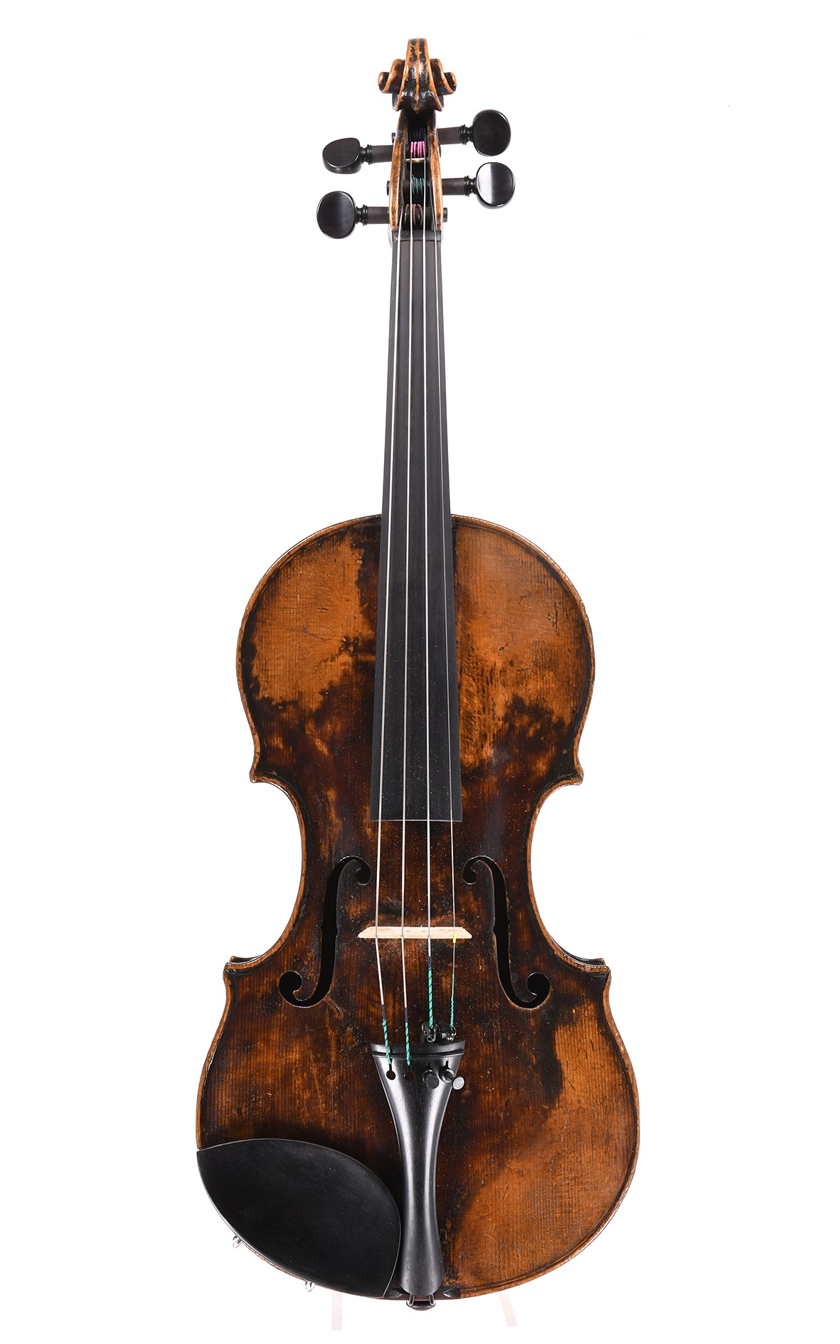 19th century violin, probably from Vienna - table