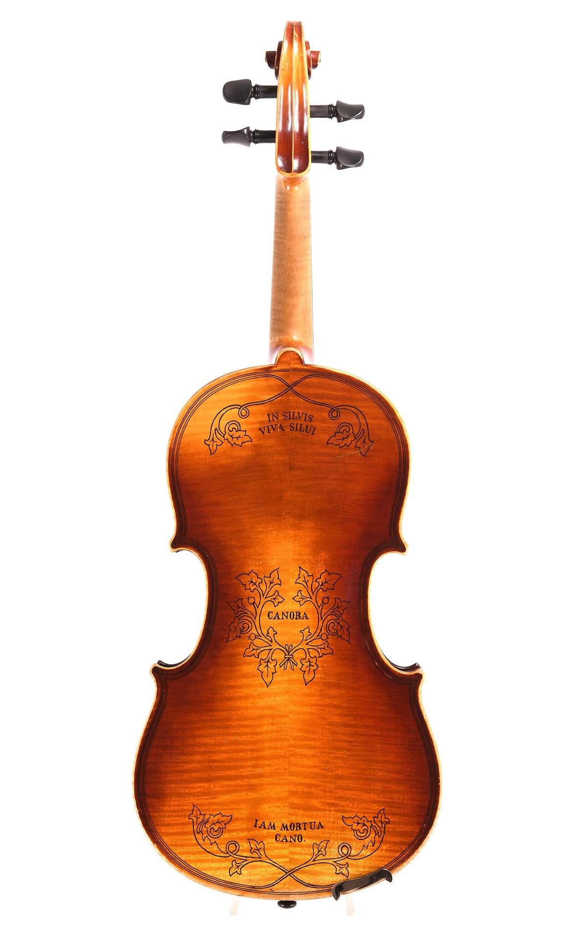 Neuner & Hornsteiner Mittenwald violin, dated 1882