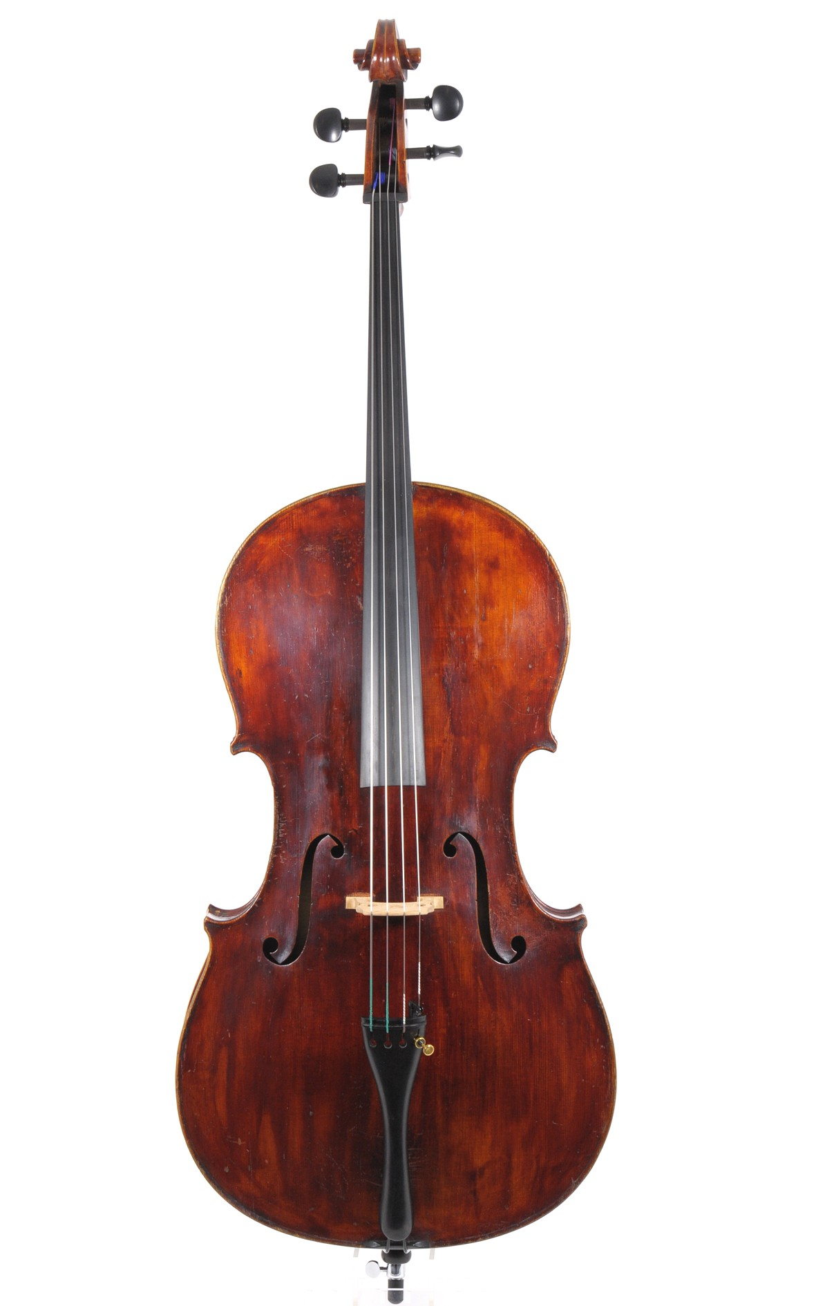 German cello by Eduard Tauscher, Markneukirchen