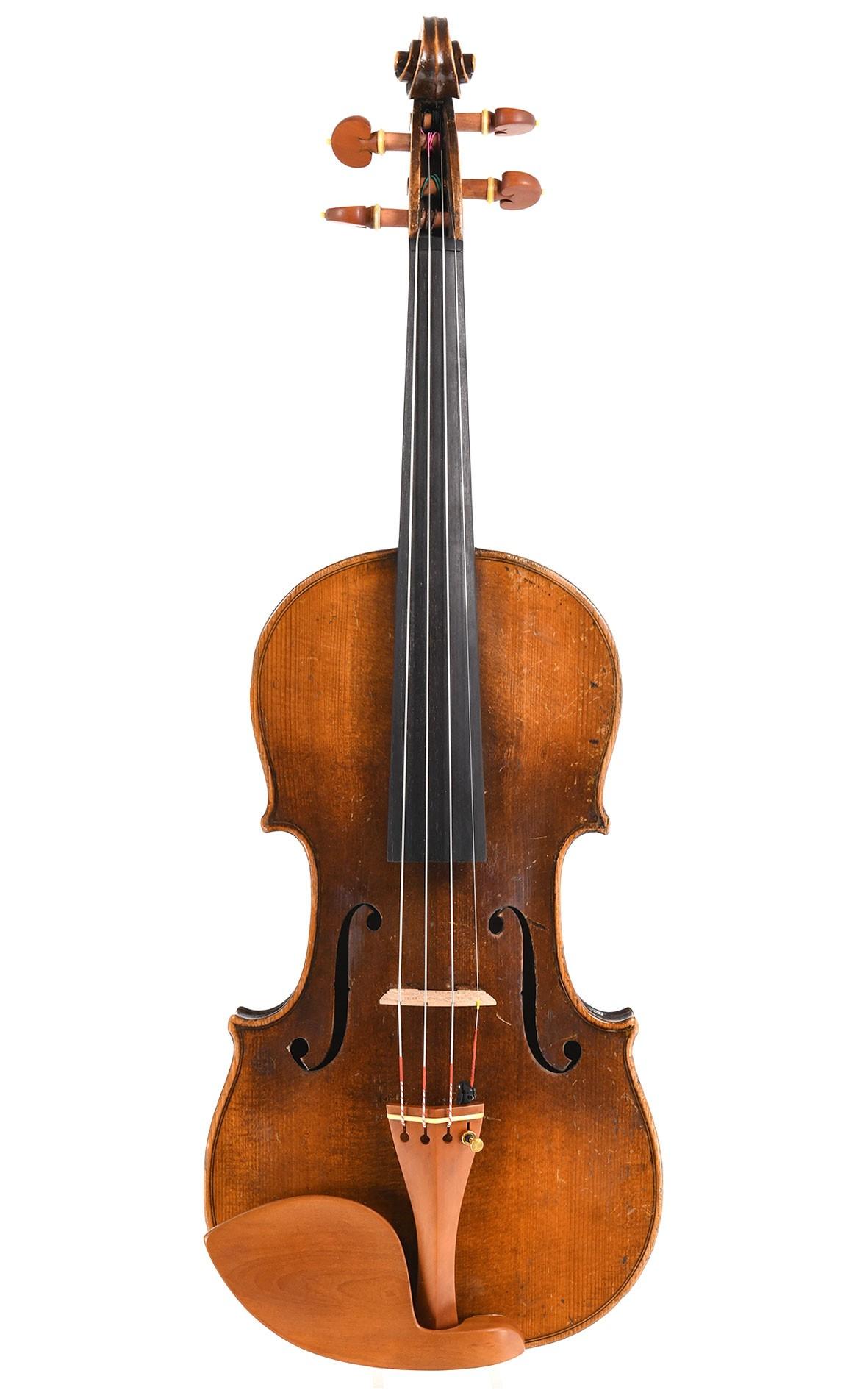 Antike Geige aus Klingenthal um 1850