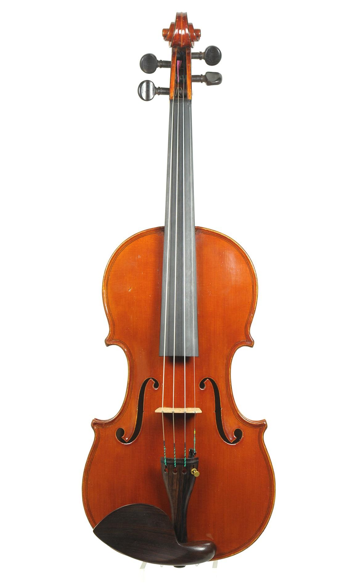 Plinio Michetti, fine Italian violin, Turin, 1931 (certificate by Hieronymus Köstler)