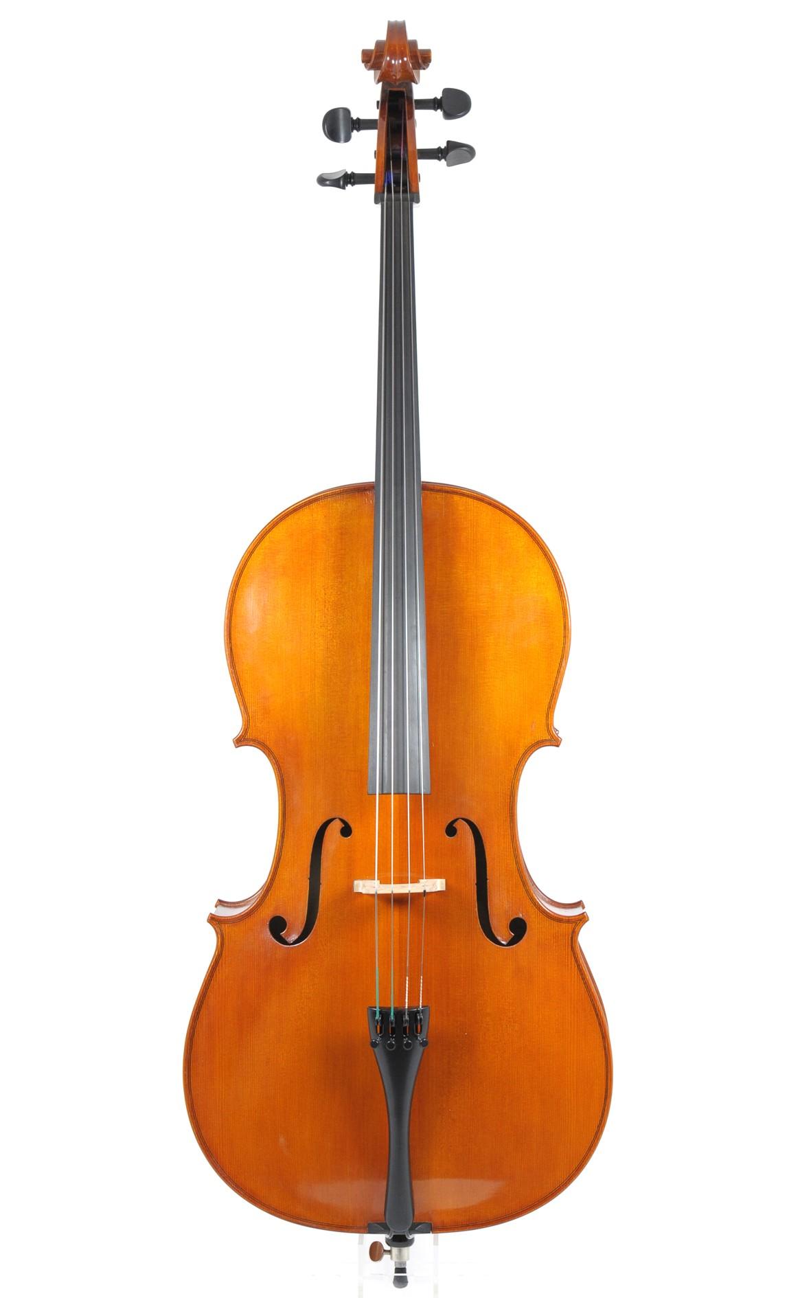 Rainer W. Leonhardt, violoncello approx. 1980 - top
