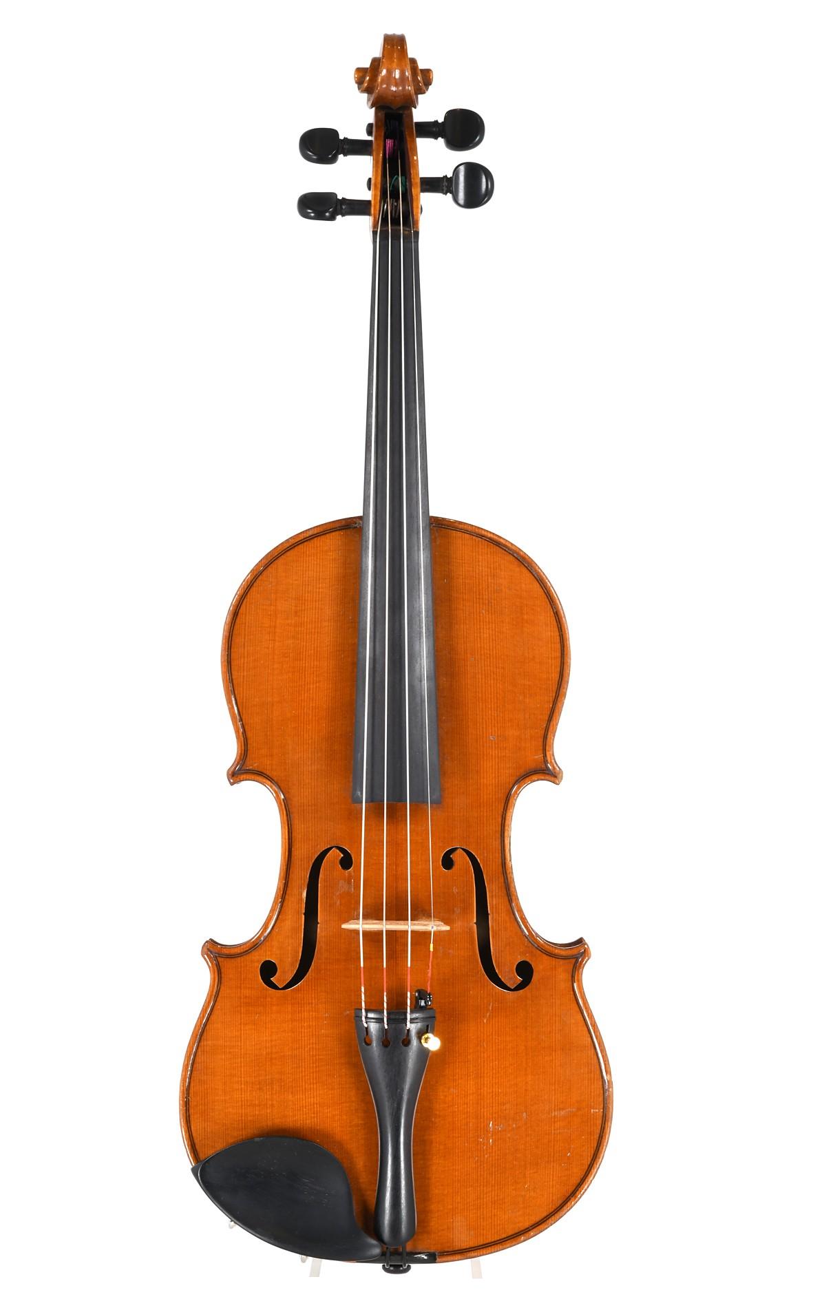 Fine Czech violin