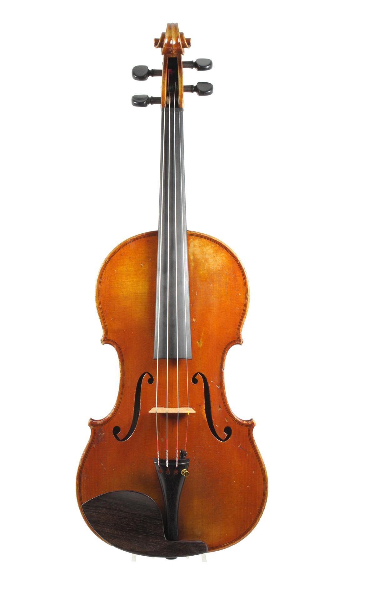 GESTOHLEN Nov. 2013: Geige von Leon Victor Mougenot, 1912
