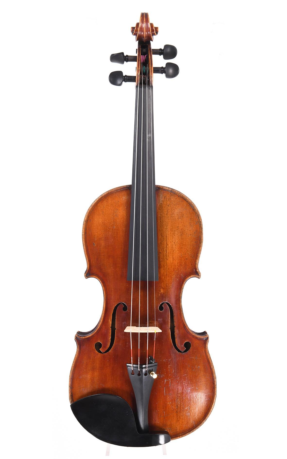 Geige von Korbinian Rieger aus Mittenwald, 1852