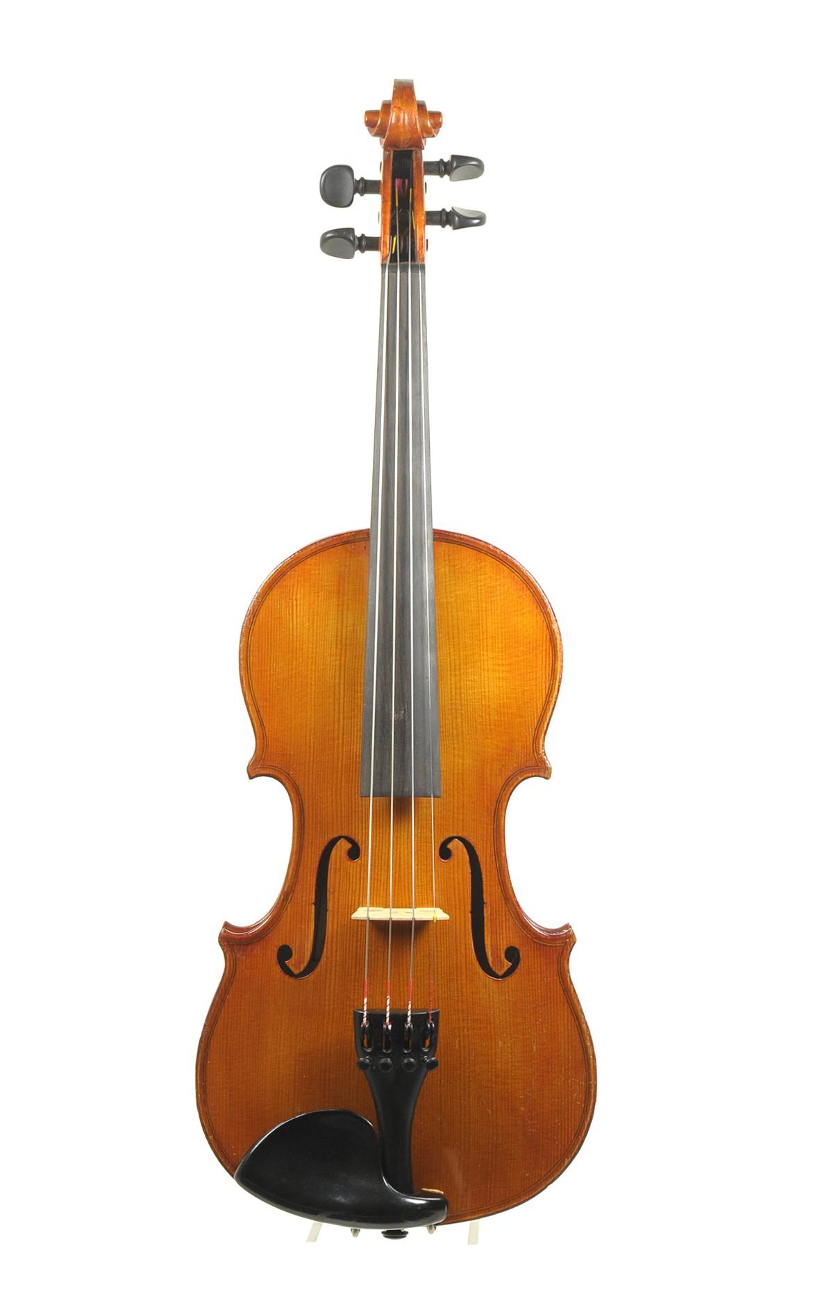 German 3/4 violin, Hermann Keim, 1991 - top