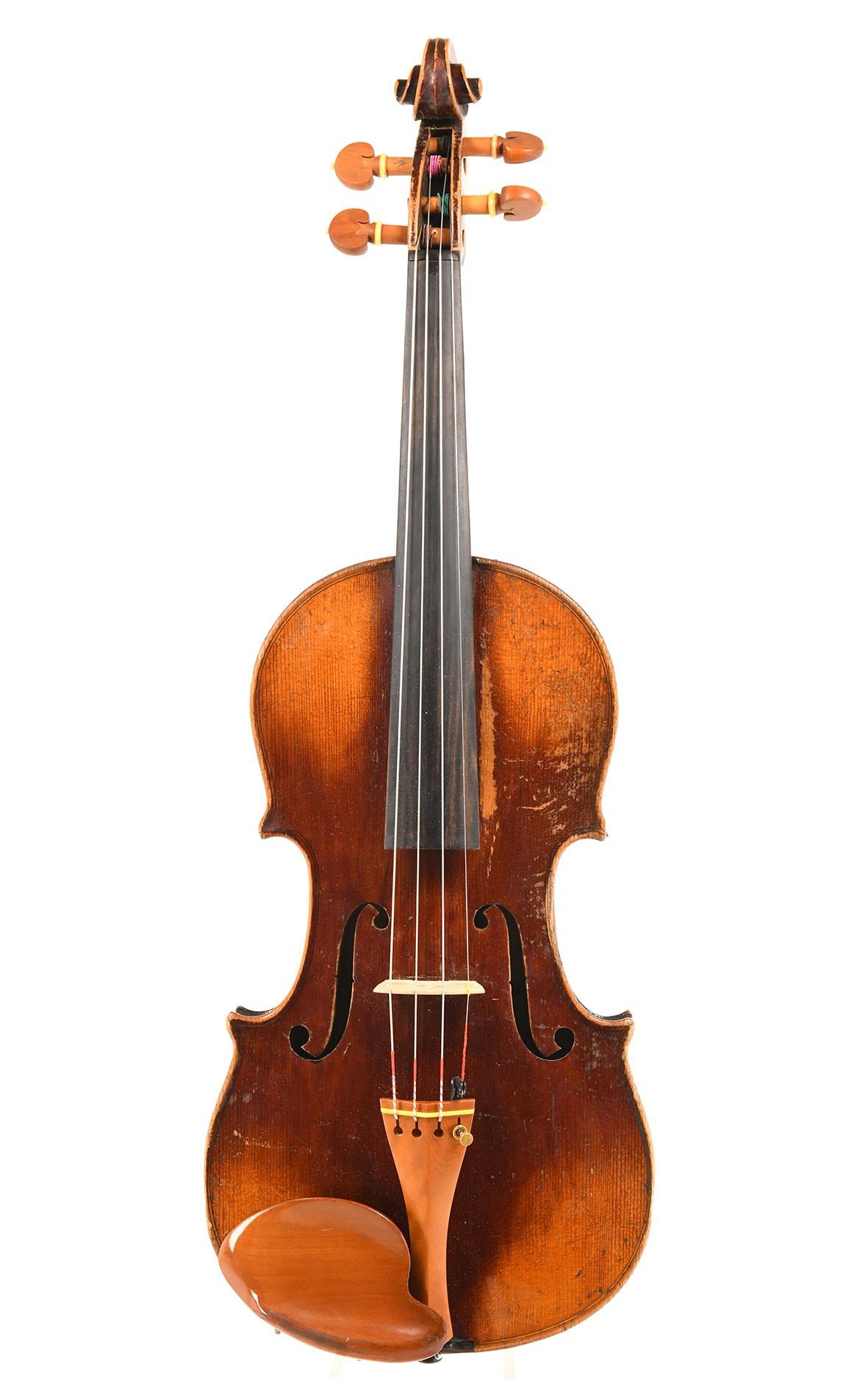 Old Saxon violin, around 1880