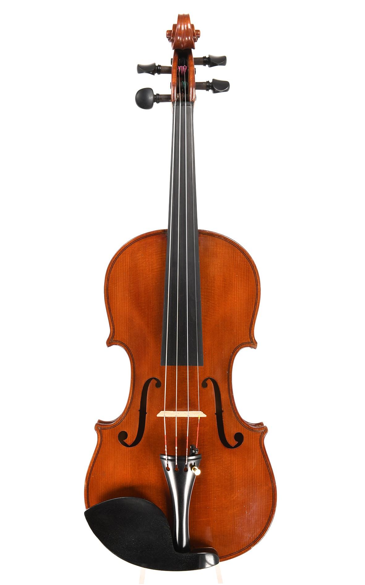 Italienische 7/8 Geige von Carlo Melloni, Zertifikat Eric Blot