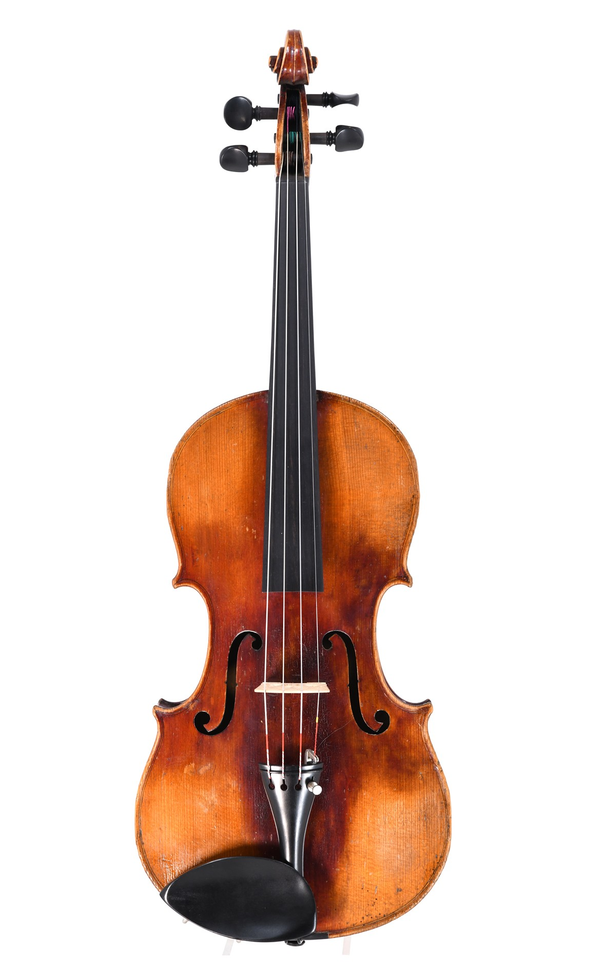 old German violin from Saxony, approx. 1880 - top view