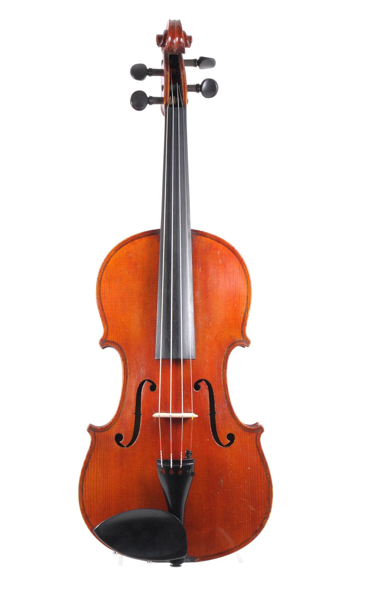 Antique violin of Klingenthal, resonant sound