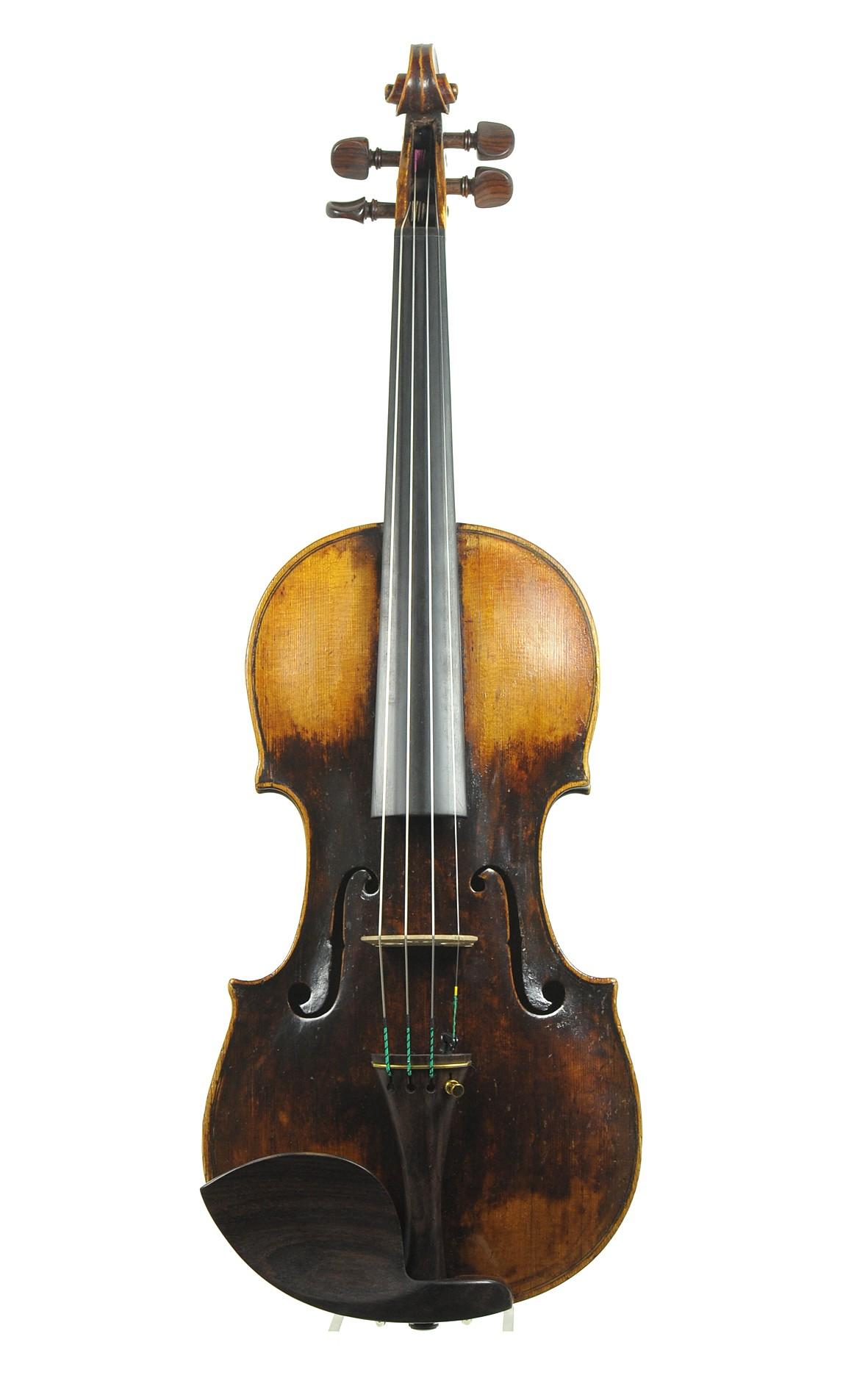 Fine Viennese master violin by Mathias Thir, 1782 (certificate by Hamma & Co. Stuttgart)