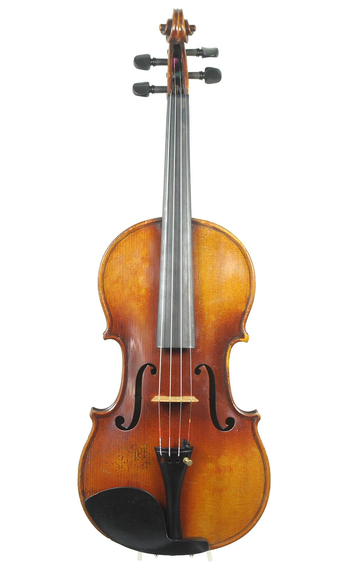Hübsche Französische Geige, Mirecourt 20. Jahrhundert