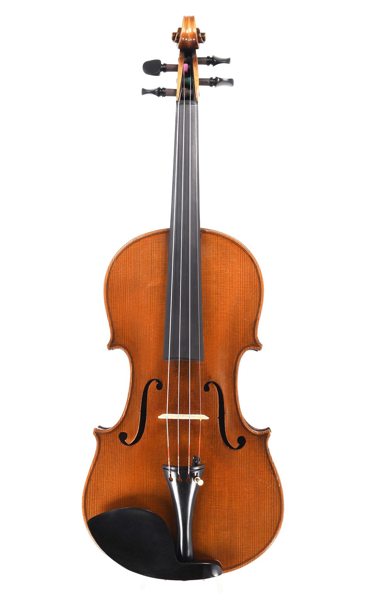 Antike Geige aus Sachsen um 1900