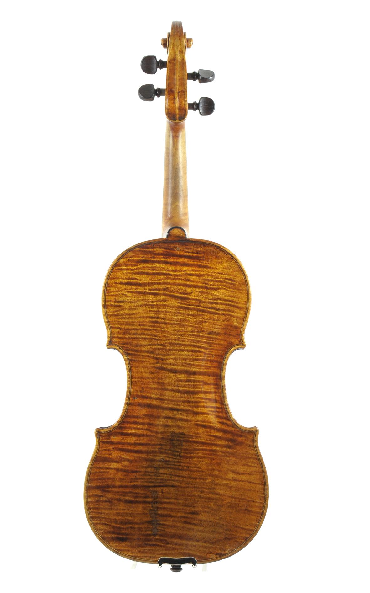 Sebastian Dalinger, Viennese violin made in 1798 (Hieronymus Köstler ...