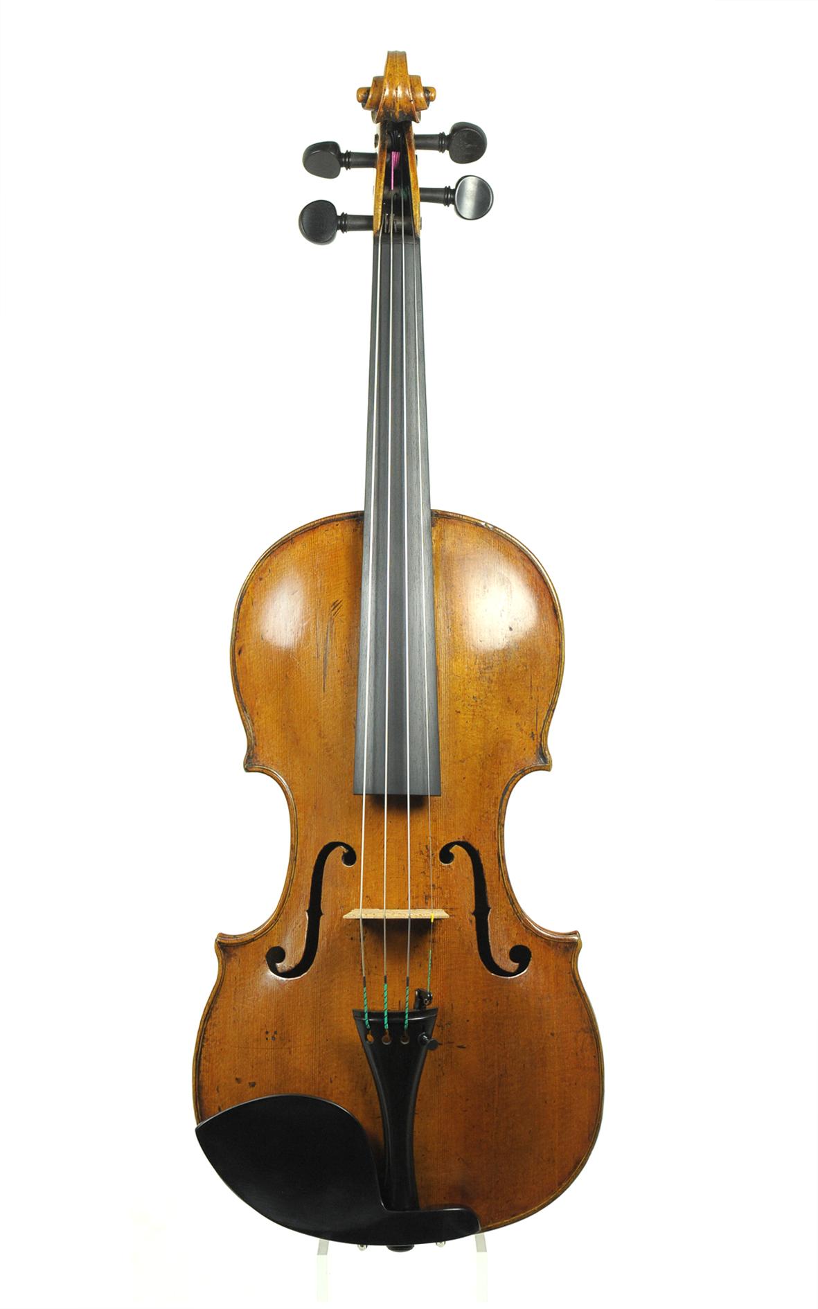 Johann Gottlob Ficker, Markneukirchen - Violine um 1800