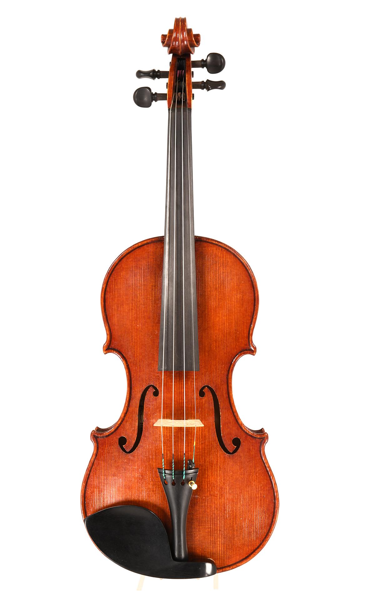 Cristiano Ferrazzi, violin maker, Verona, IT