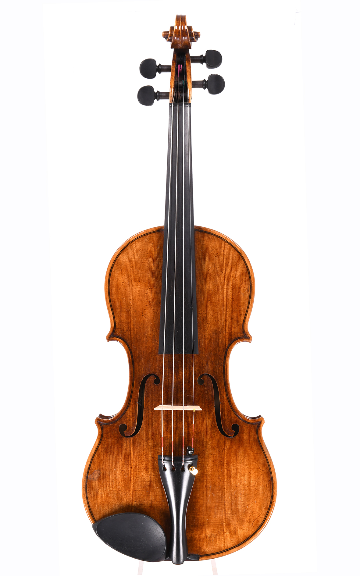 Norddeutsche Violine von Richard Berger, Stralsund 1914