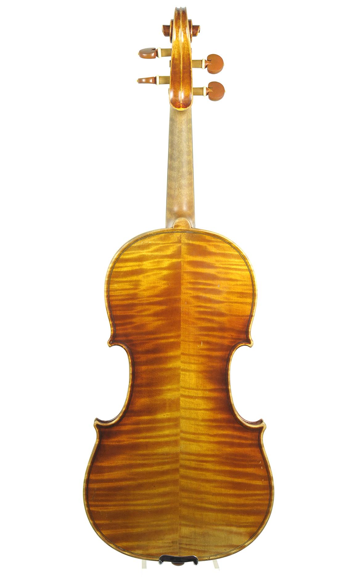 Antique Mittenwald violin, Neuner & Hornsteiner, 1912 ... Hornsteiner Violins Value