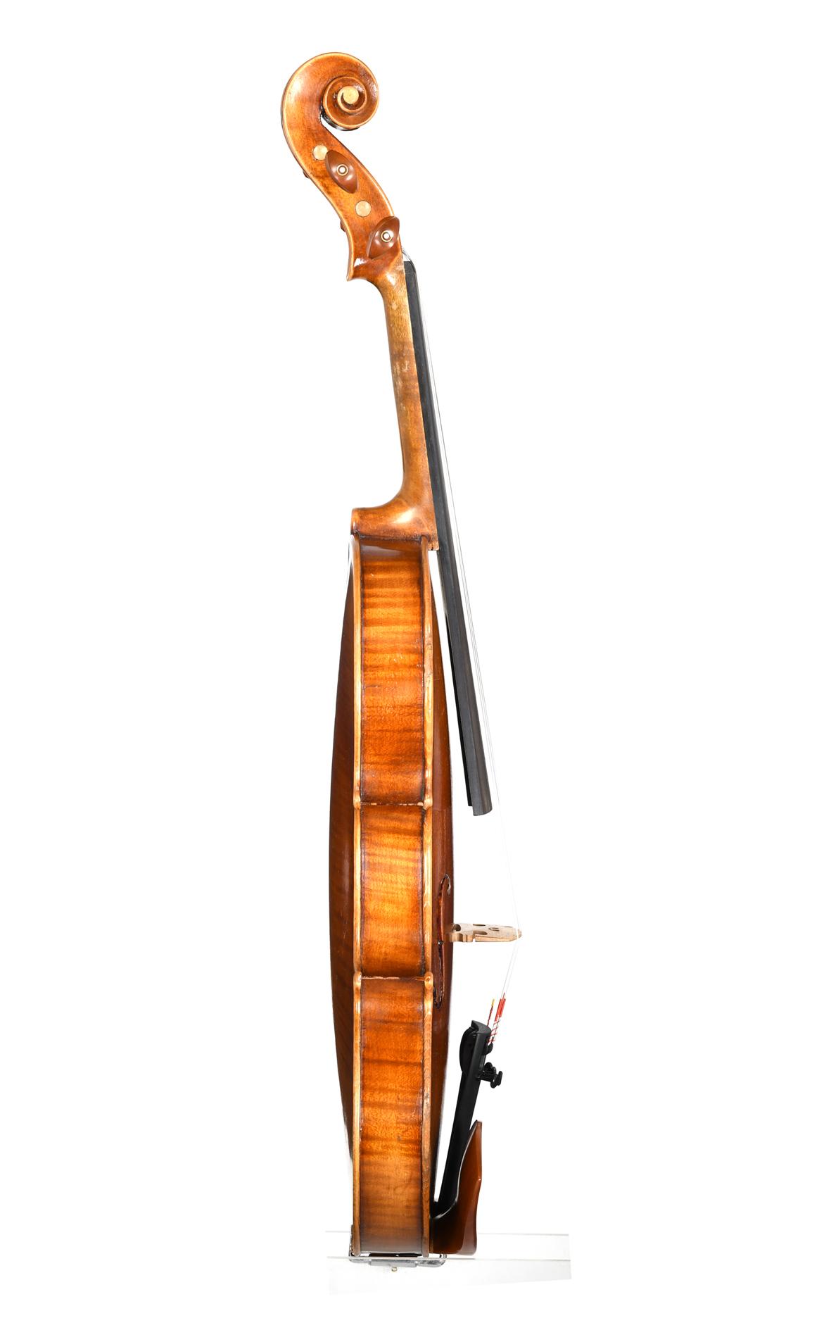 3 4 violin by e l g tter markneukirchen approx 1920 children 39 s violins markneukirchen. Black Bedroom Furniture Sets. Home Design Ideas