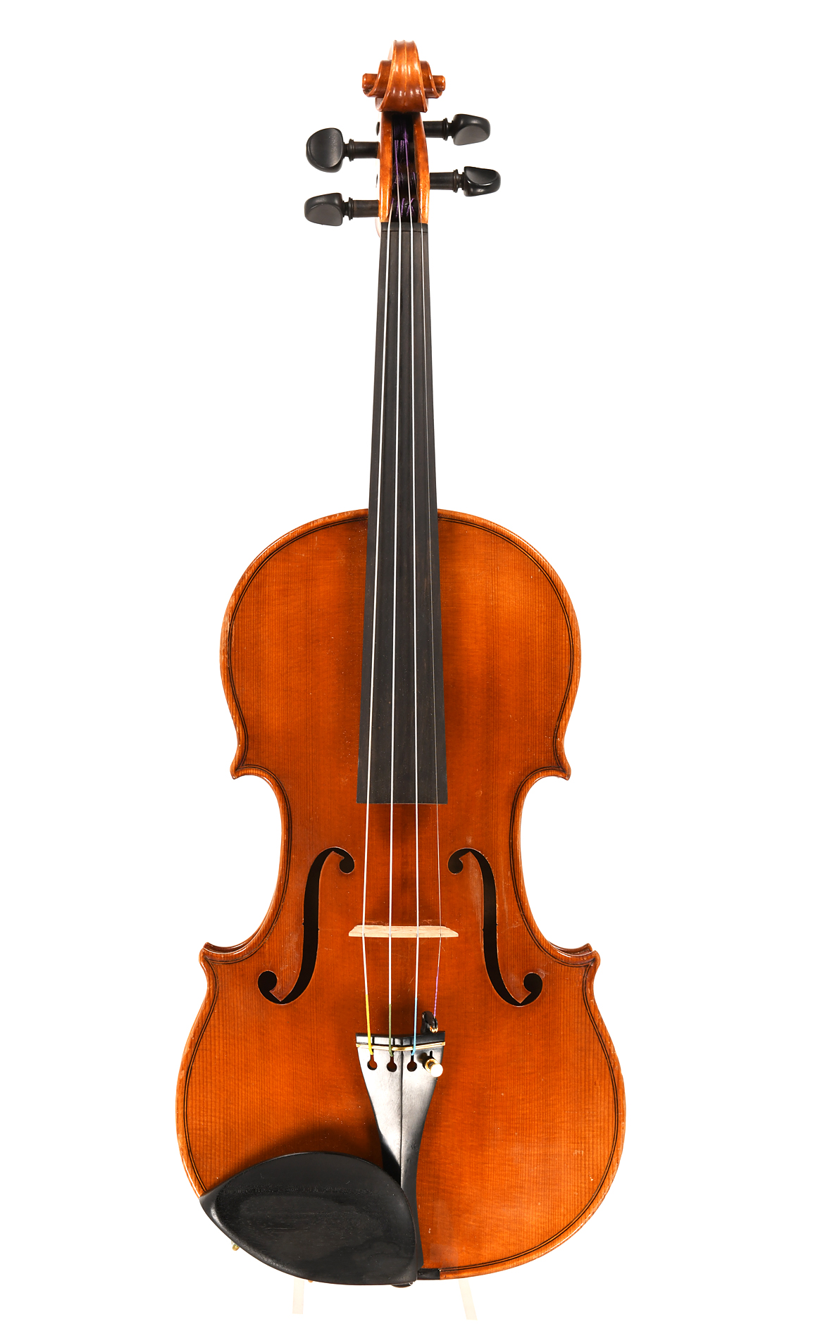 Unnamed Markneukirchen violin of quality. c.1980