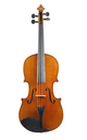 Violin from Saxony, Dresden - top