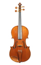 Antique French 7/8 violin, approx. 1880, probably Jerome Thibouville-Lamy - top