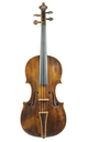 Baroque violin approx. 1800 - top