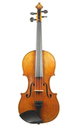 Violin with twisted band decorated edges - top