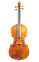 Old Mittenwald violin, J. A. Baader- top