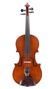Fine quality Markneukirchen violin from Schuster & Co. - table