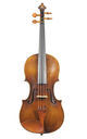 Violin from Saxony, after J. B. Schweitzer - top
