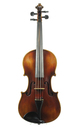German violin after Jacob Stainer - top view