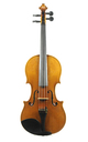 Violin from Bohemia, Italian style approx. 1900 - top