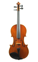 Modern violin from Italy - top
