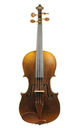 Antique Klingenthal violin, approx. 1850 - top