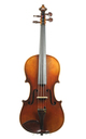 August Clemens Glier, Markneukirchen, violin approx. 1900 - top