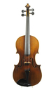 Antique Markneukirchen violin, probably by Schuster & Co.- top