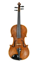 Old Czech violin full of character, made in the Italian style, c.1900