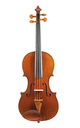 Max Amberger, Mittenwald violin approx. 1900 - top