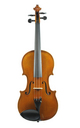 German violin by W. Knorr, Oldenburg - top