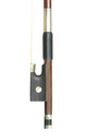 French 1/2 sized violin bow - frog