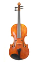 Modern mid 20th century English viola, oil varnished