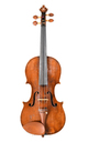 James Preston, English violin, late 18th century - top