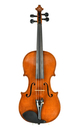 Excellent sounding modern Markneukirchen violin - top