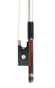 Master violin bow, Knopf, 19th century