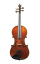 Old French 3/4 violin, Laberte-Humbert approx. 1920 - front view