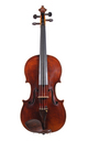 French violin by Justin Maucotel circa 1820 - top
