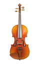 3/4 - German student violin, Saxony 1950ies - top